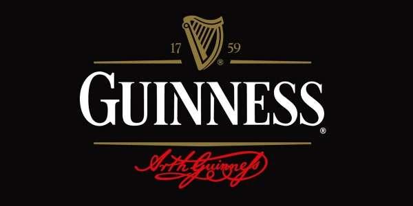 Guinness Logo mit Unterschrift