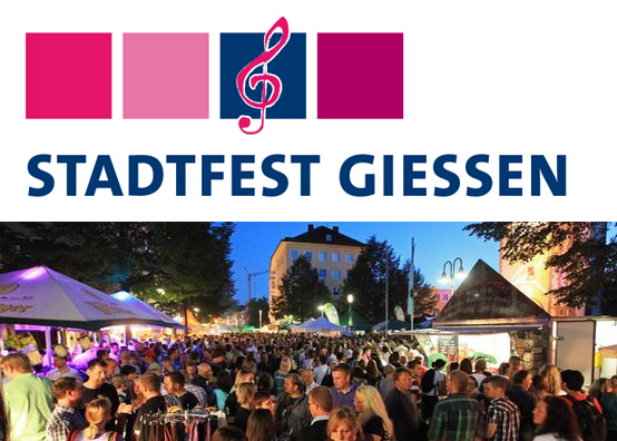 Stadtfest Giessen Logo | Finnegan-Events