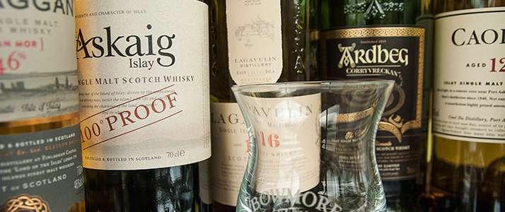 Flaschen Whisky