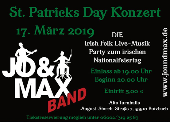 St. Patricks Day Konzert
