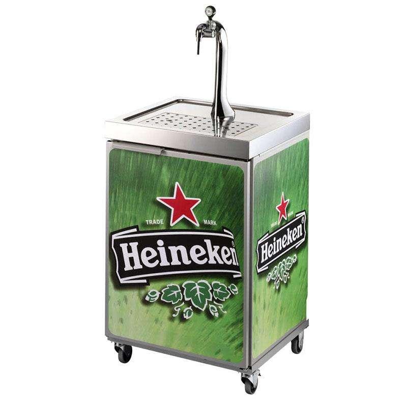 Mobile Zapfanlage Heineken